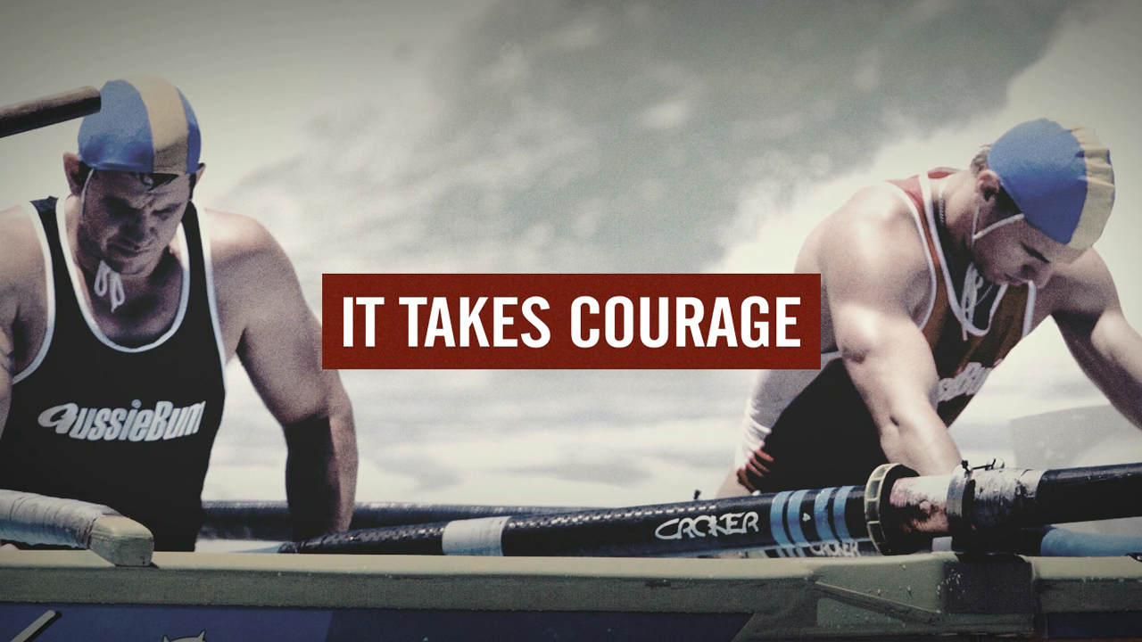 It takes courage to reach out. 02 Video Image